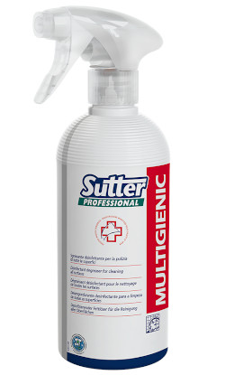 Cod. 1425122IGIENIZZANTE SPRAY SUTTER MULTIGENIC